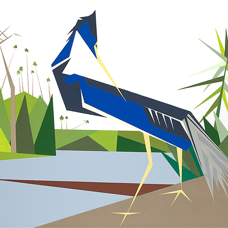 Blue Heron -