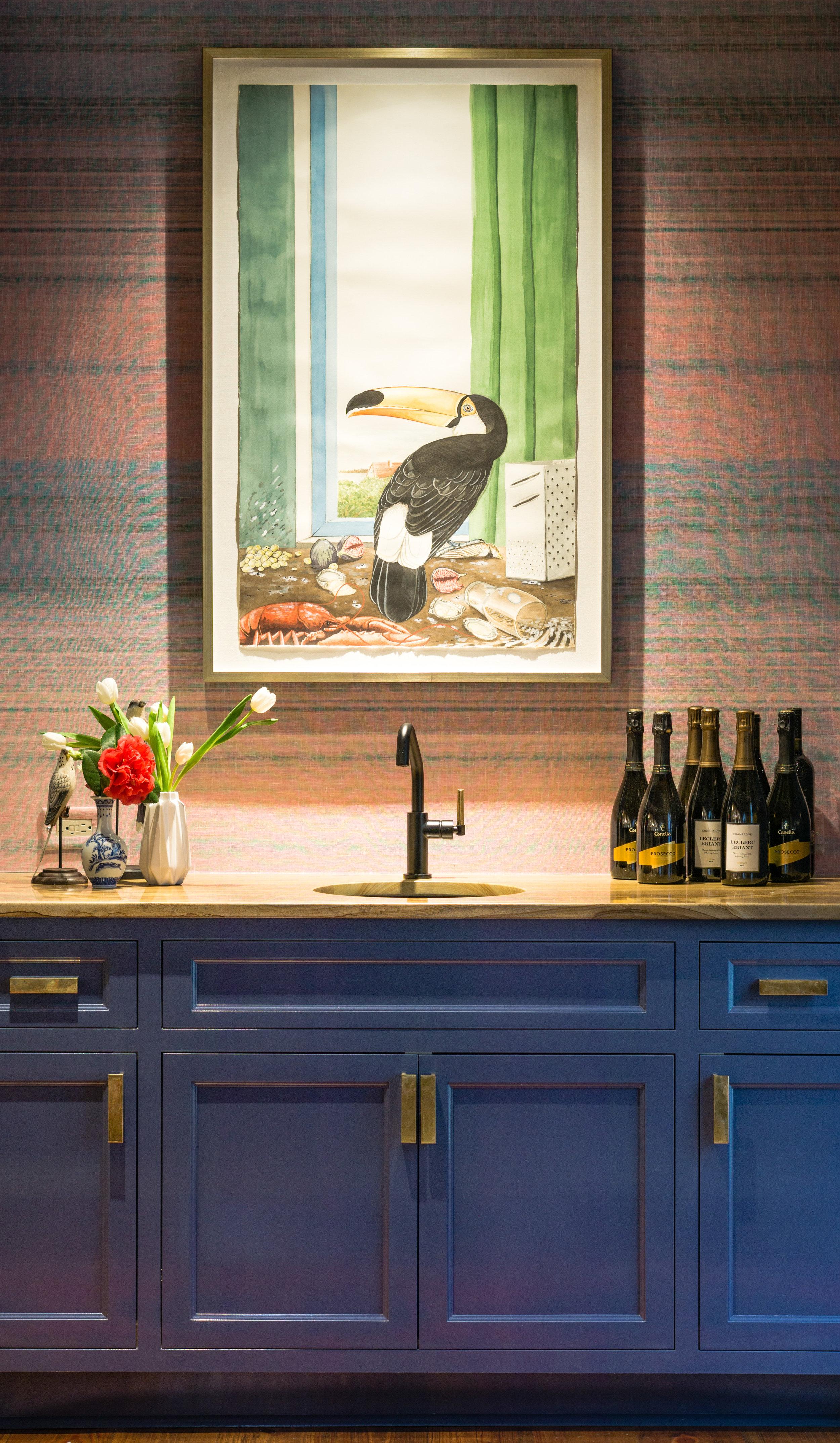 Adam BatchelorStill Life with a Toucan, 2018 -