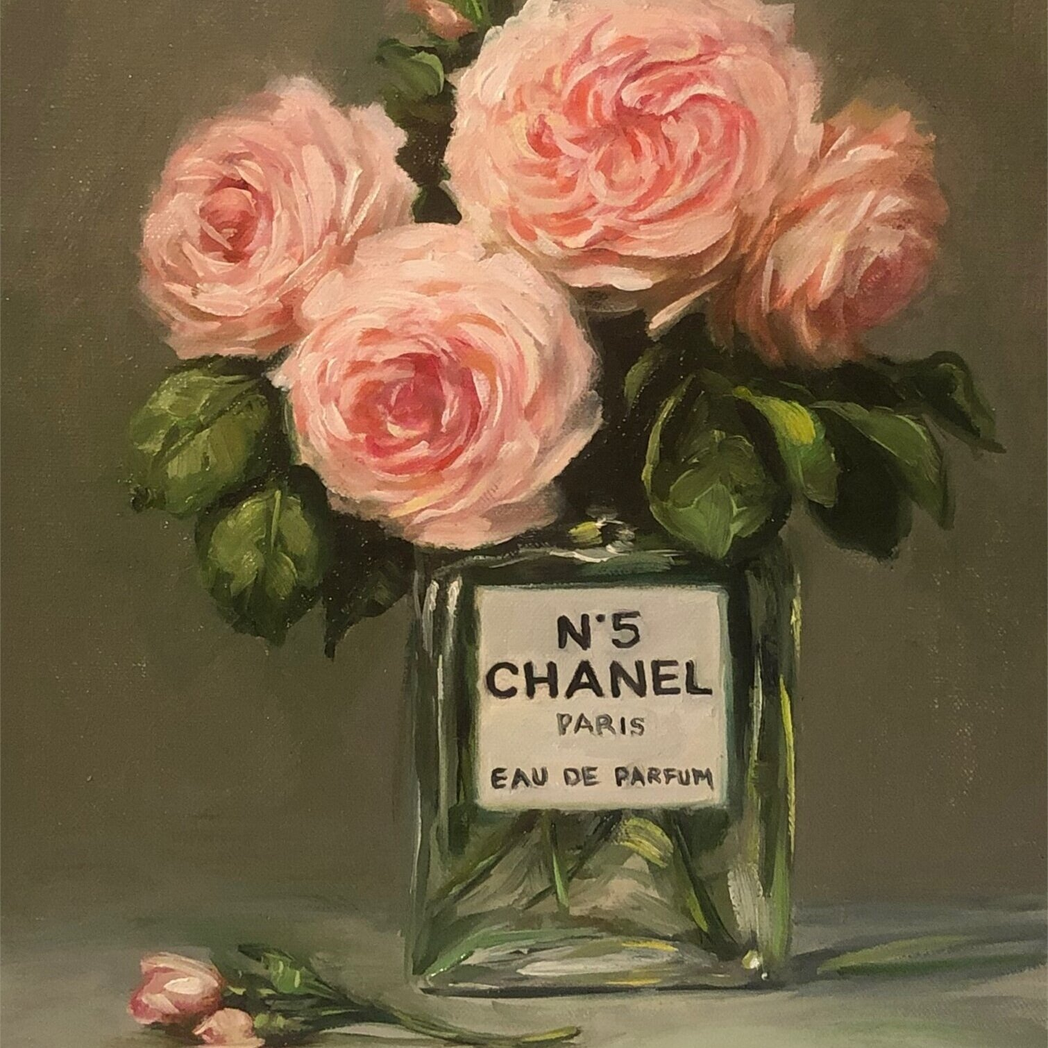 Latour Roses with Chanel No 5 -