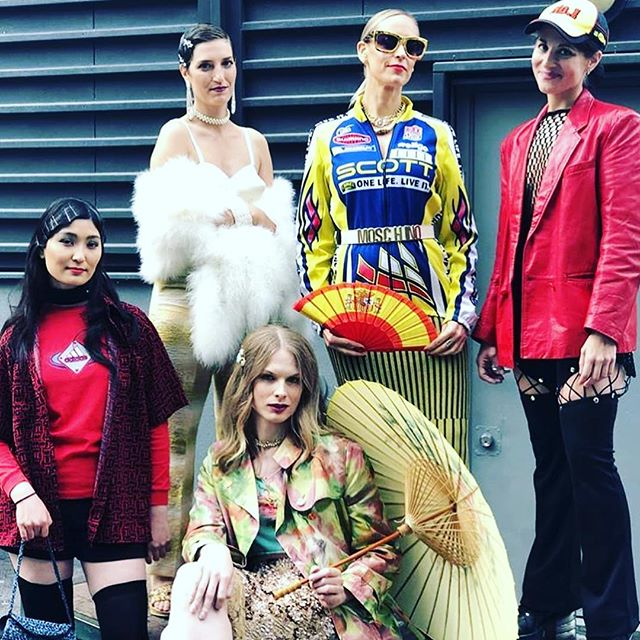 Our former students did hair & makeup for @emmausstockholm at Stockholm Sustainable Fashion Day‼️