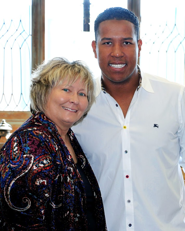 Nancy Kerr and Salvador Perez at Edison Events.jpg