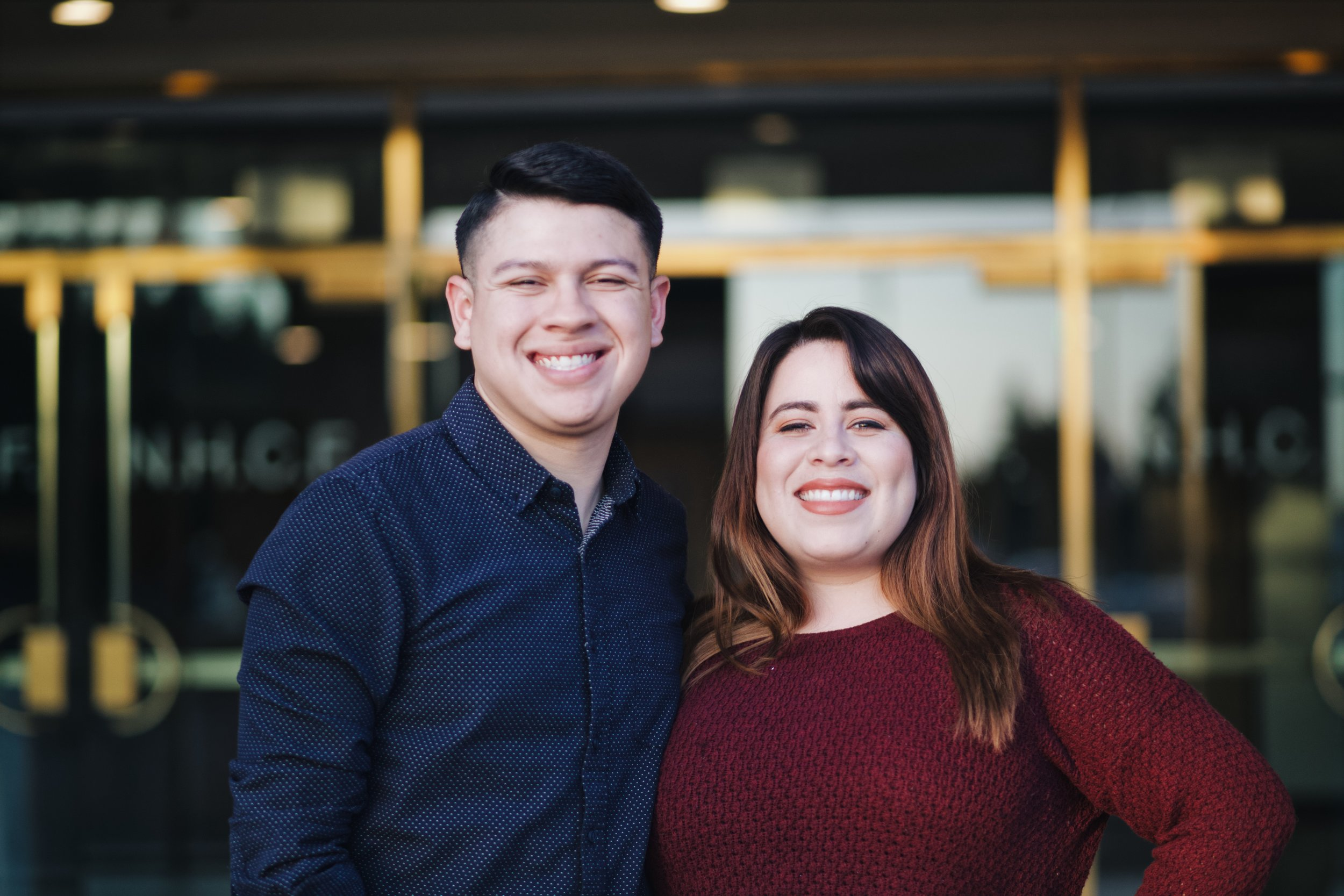 Valerie + Joseph  7 pm  Young adults co-Ed  Text @relateya {to 810-10}