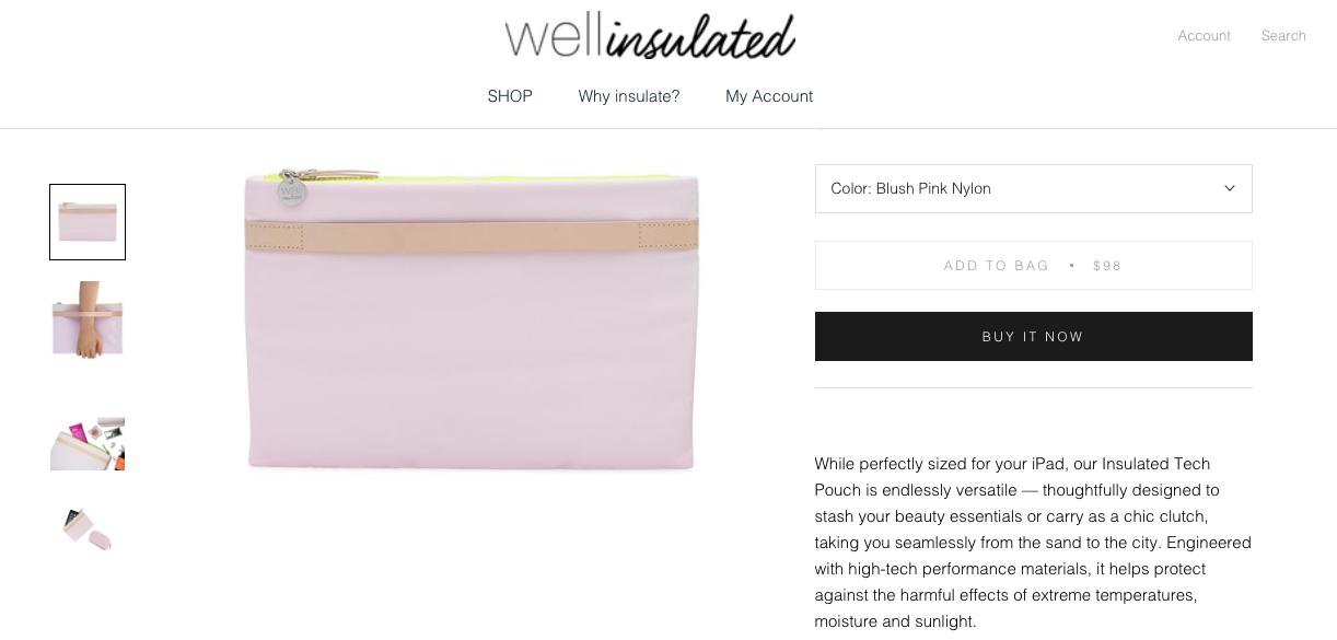 Website copy/ Product description