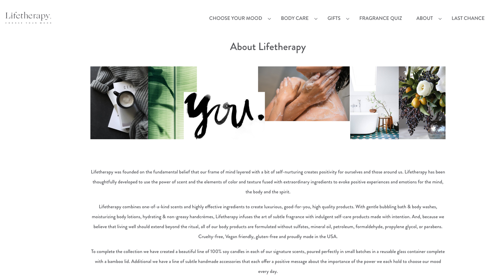 Website copy/Brand voice/Marketing collateral