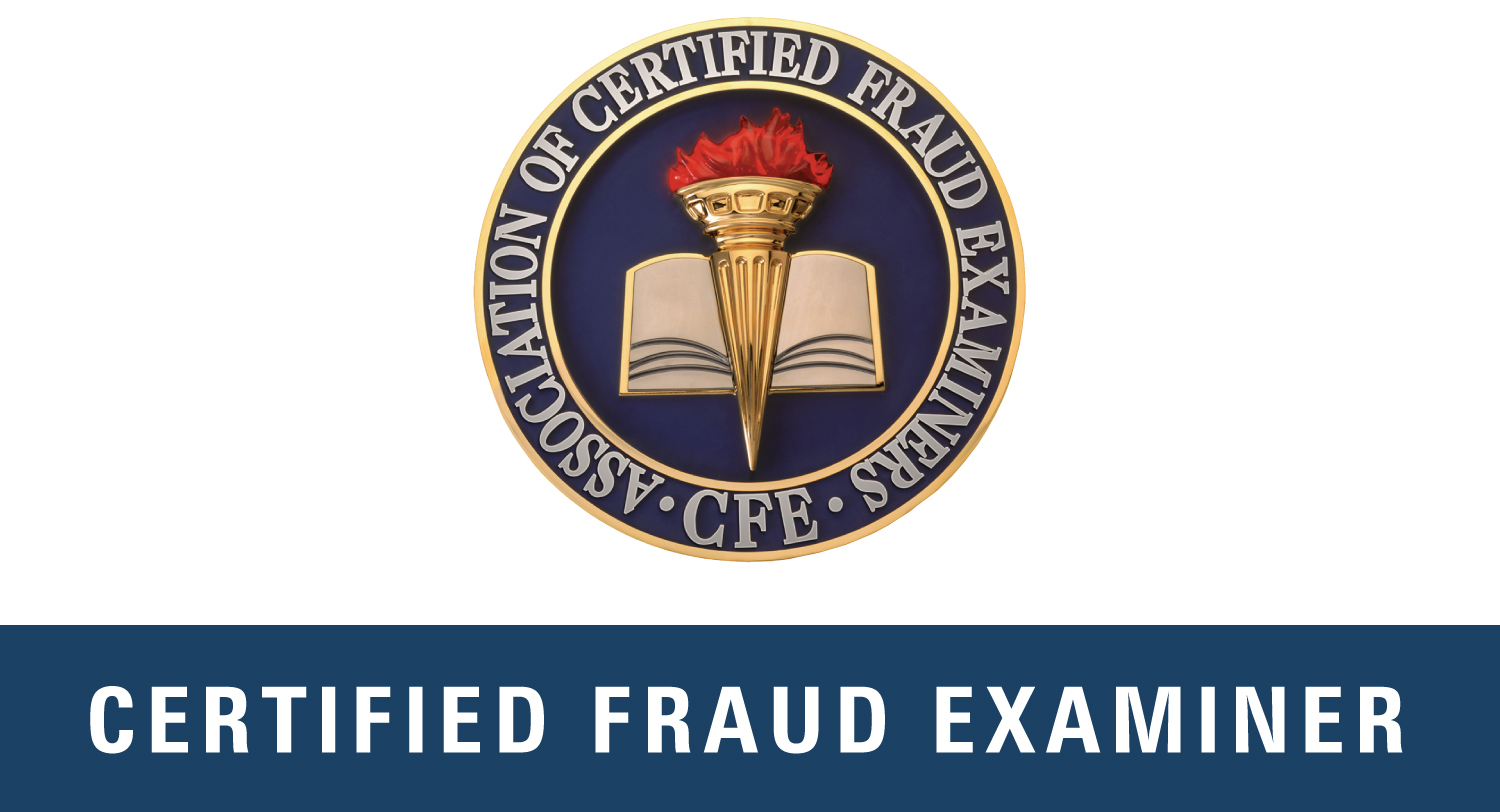 Laporte - 2005 - 2009Former Certified Public Accountant specializing in litigation support and fraud preventionFormer – Certified Fraud Examiner