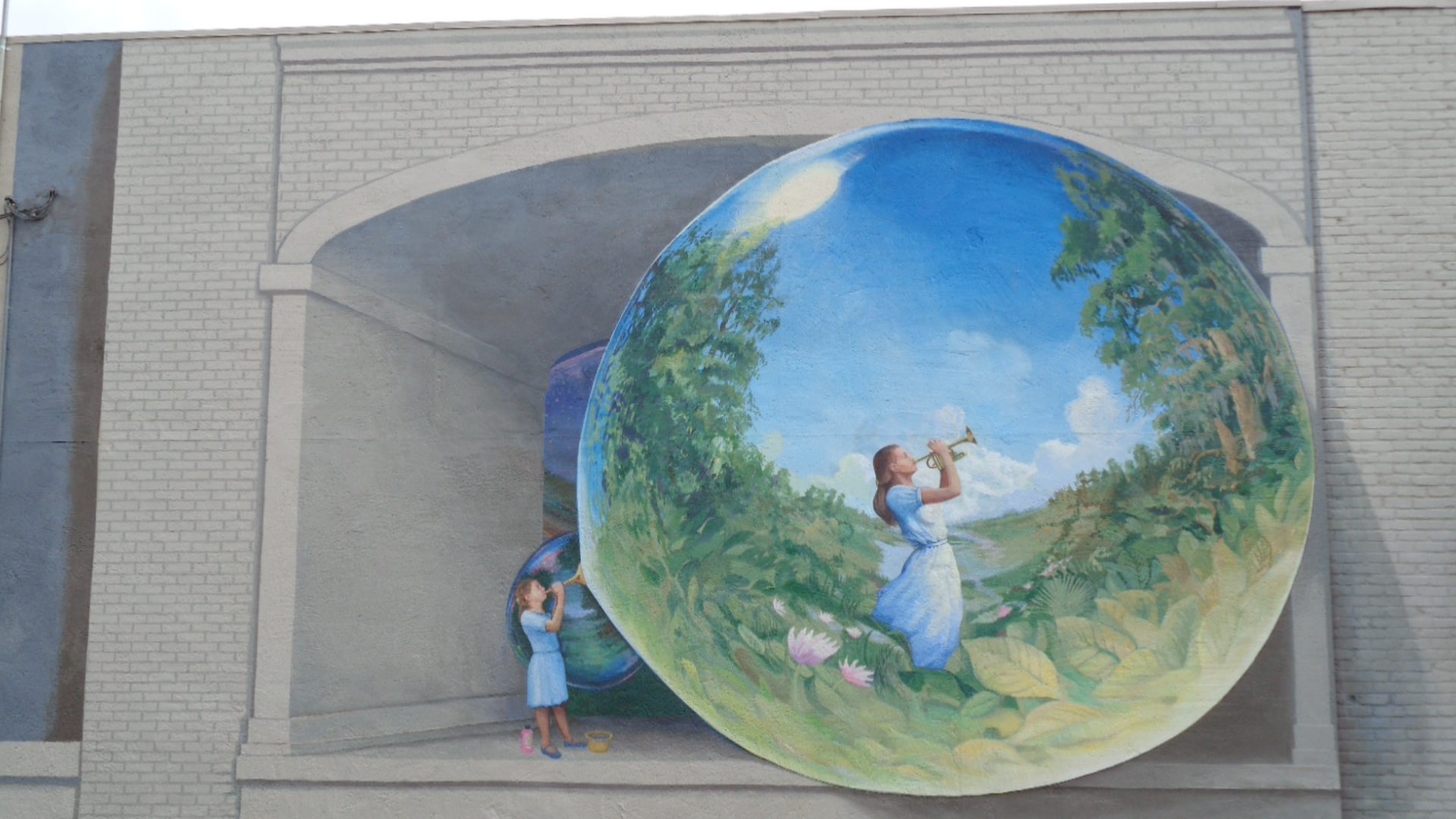 Making JEFFERSON BEAUTIFUL - Worked for beautifying our public rights of way with murals, decorative lighting, fountains and landscaping