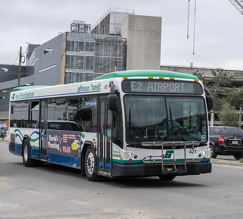 Jefferson Transit - Advocated for more coordination between parishes to deliver better service to transit passengers and improved operational efficiencies