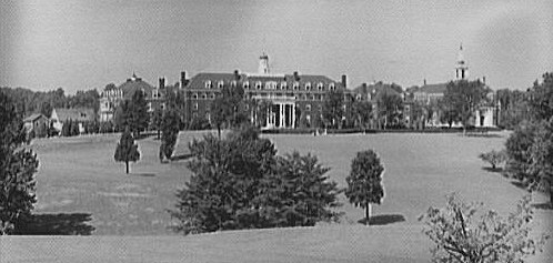 Georgetown Preparatory School, Rockville Pike, 1950 (LIbrary of Congress)