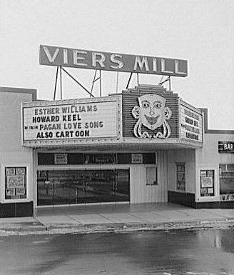 Viers Mill Theater, 1950s (Library of Congress)