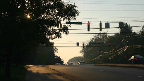 Morning on Old Georgetown Road