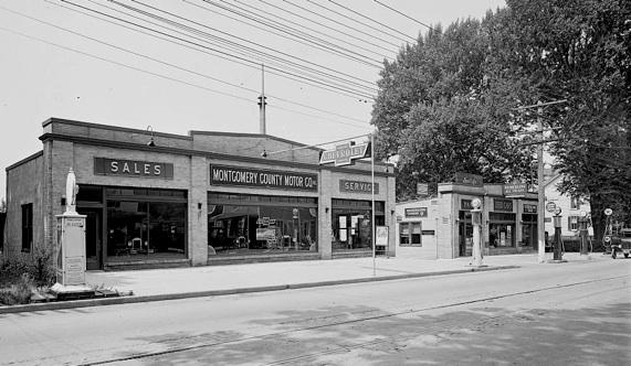 Rockville auto dealer, 1917