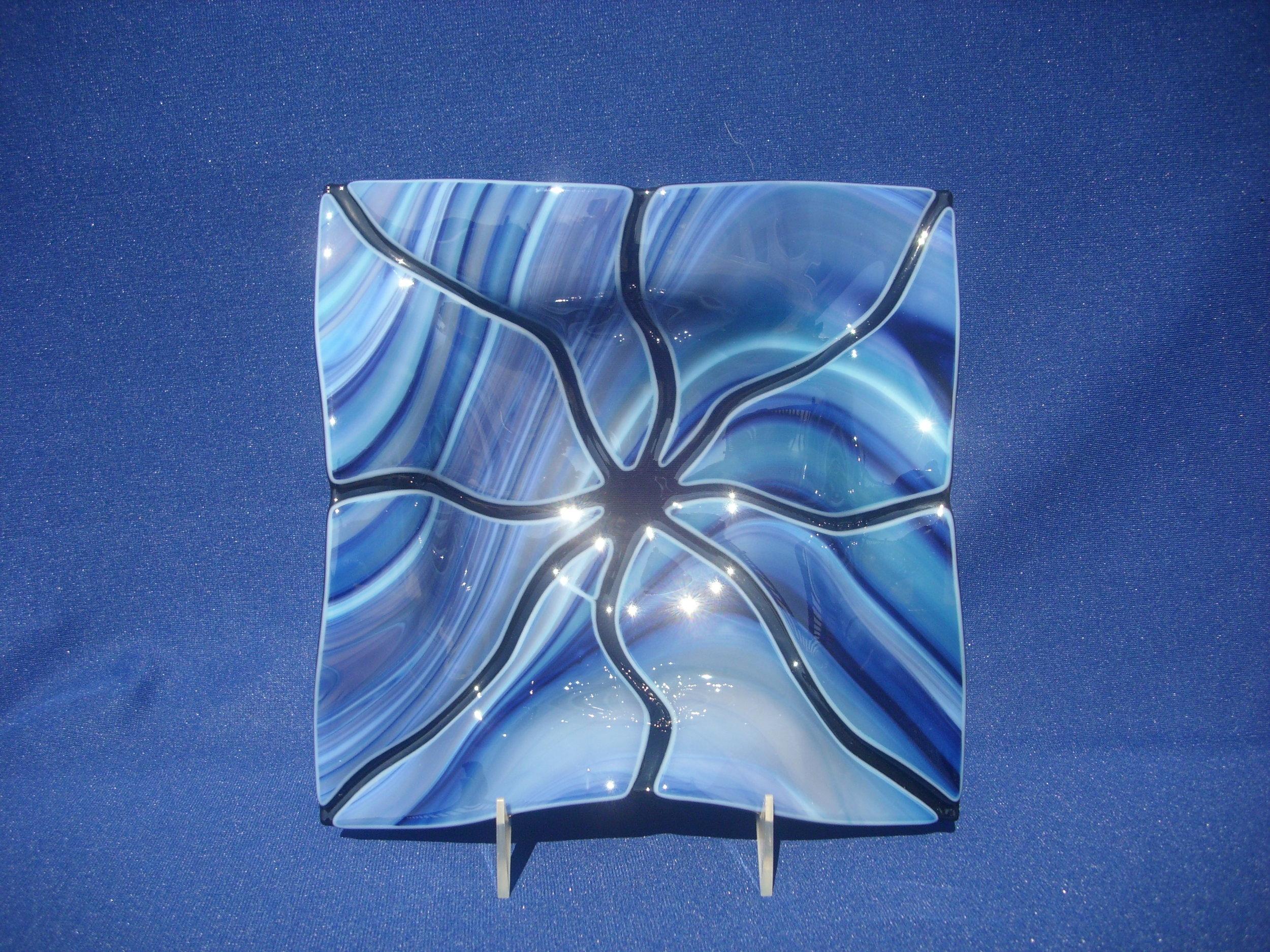 Blue Wispy Spider  $110.JPG