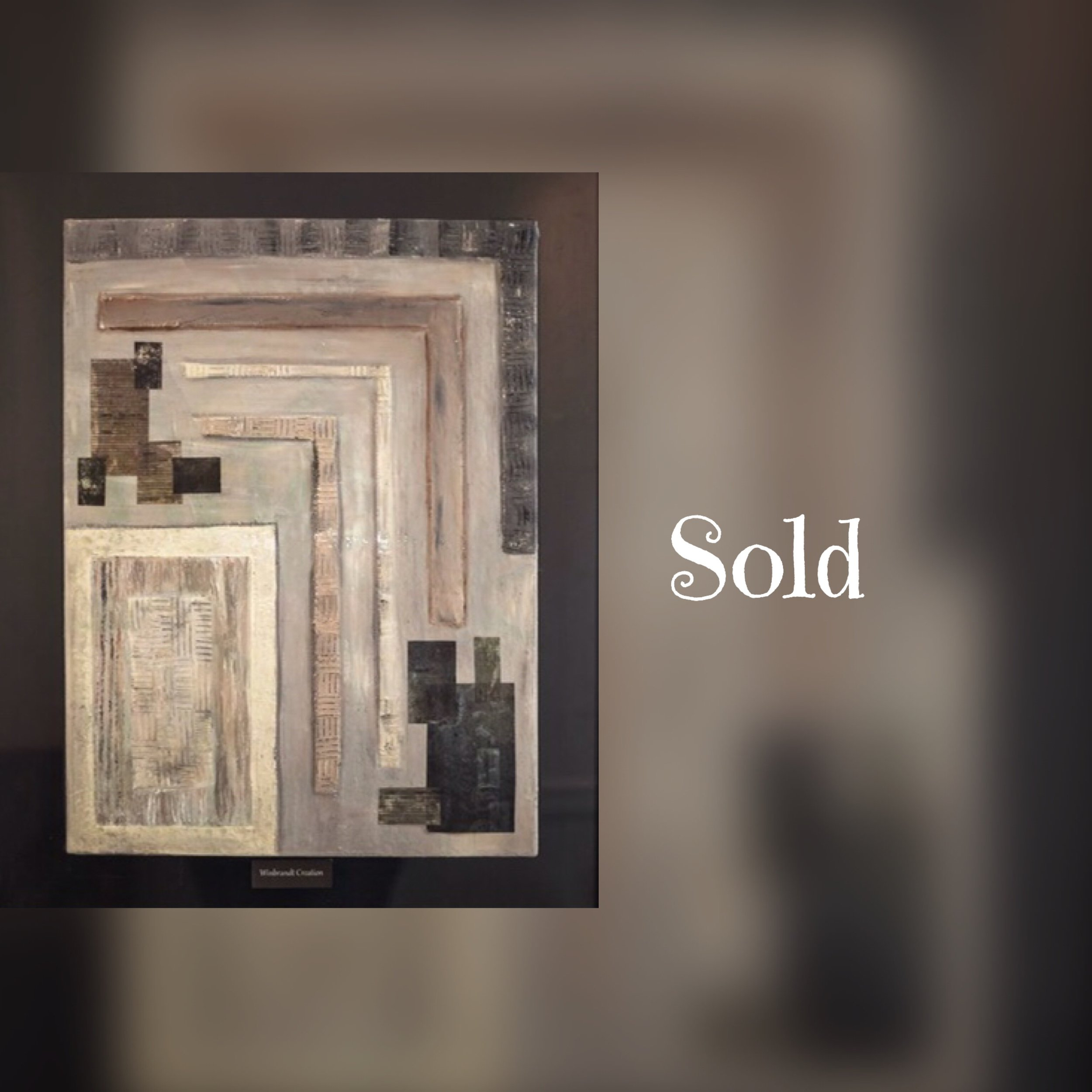 """Abstract Grey Scale, 24""""x30"""", mixed media, SOLD"""