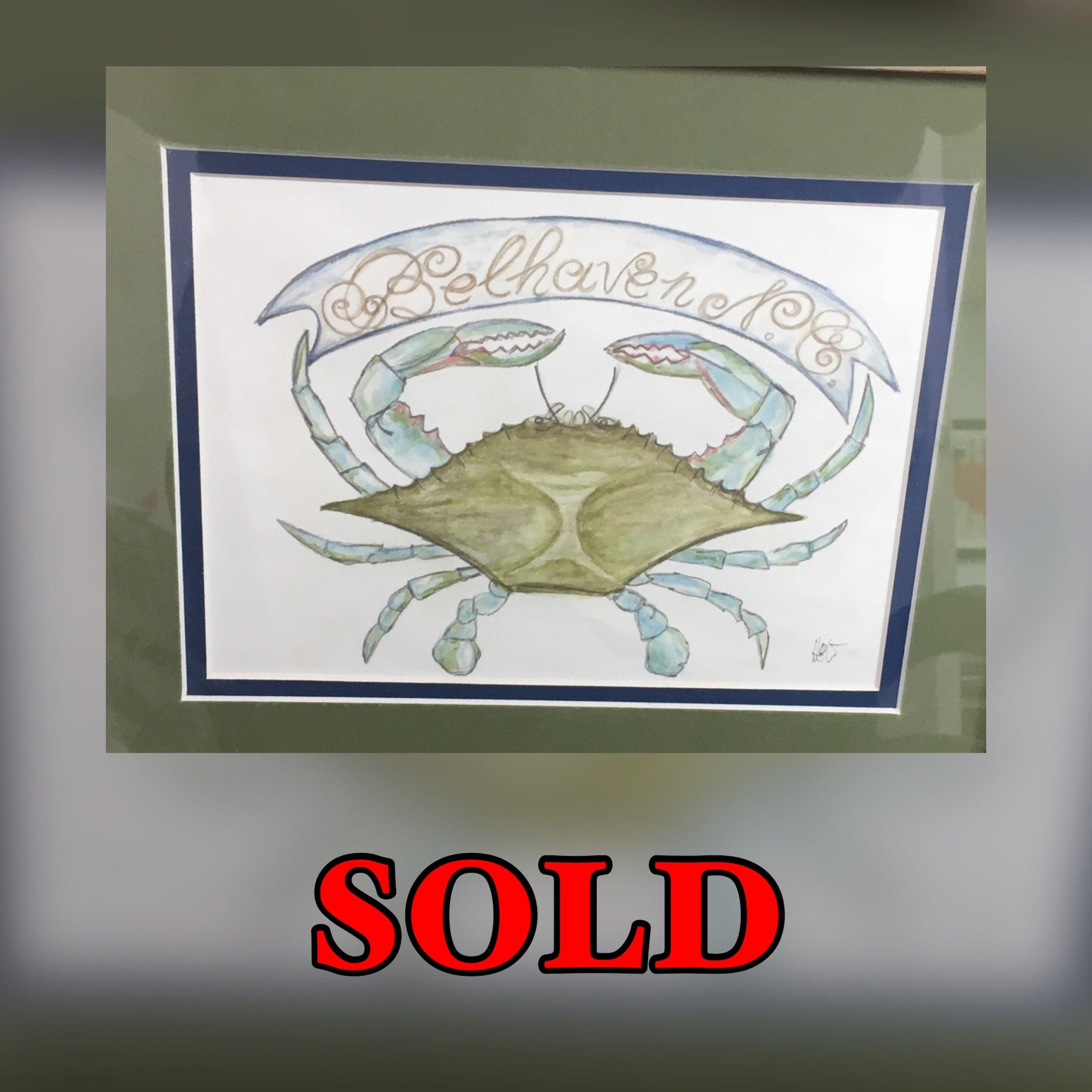 Gallery Crab (Medium) SOLD