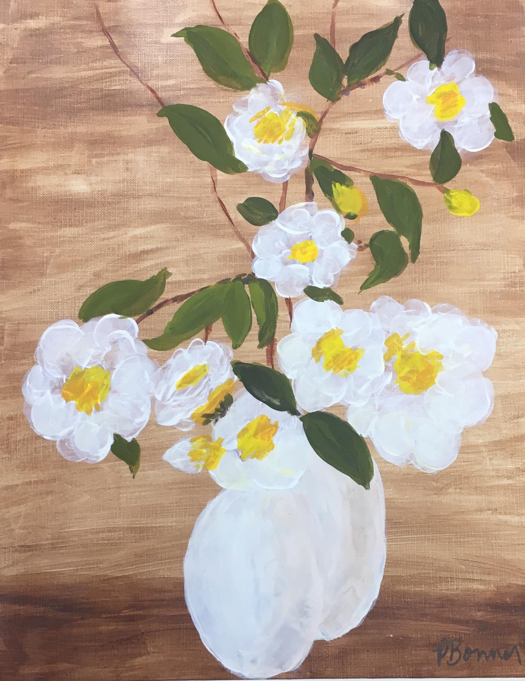 Spring Flowers, 16 x 20, acrylic, $175