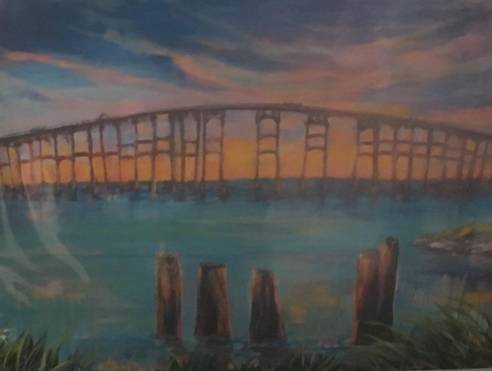 Bridge, 11 x 14, Print, $45