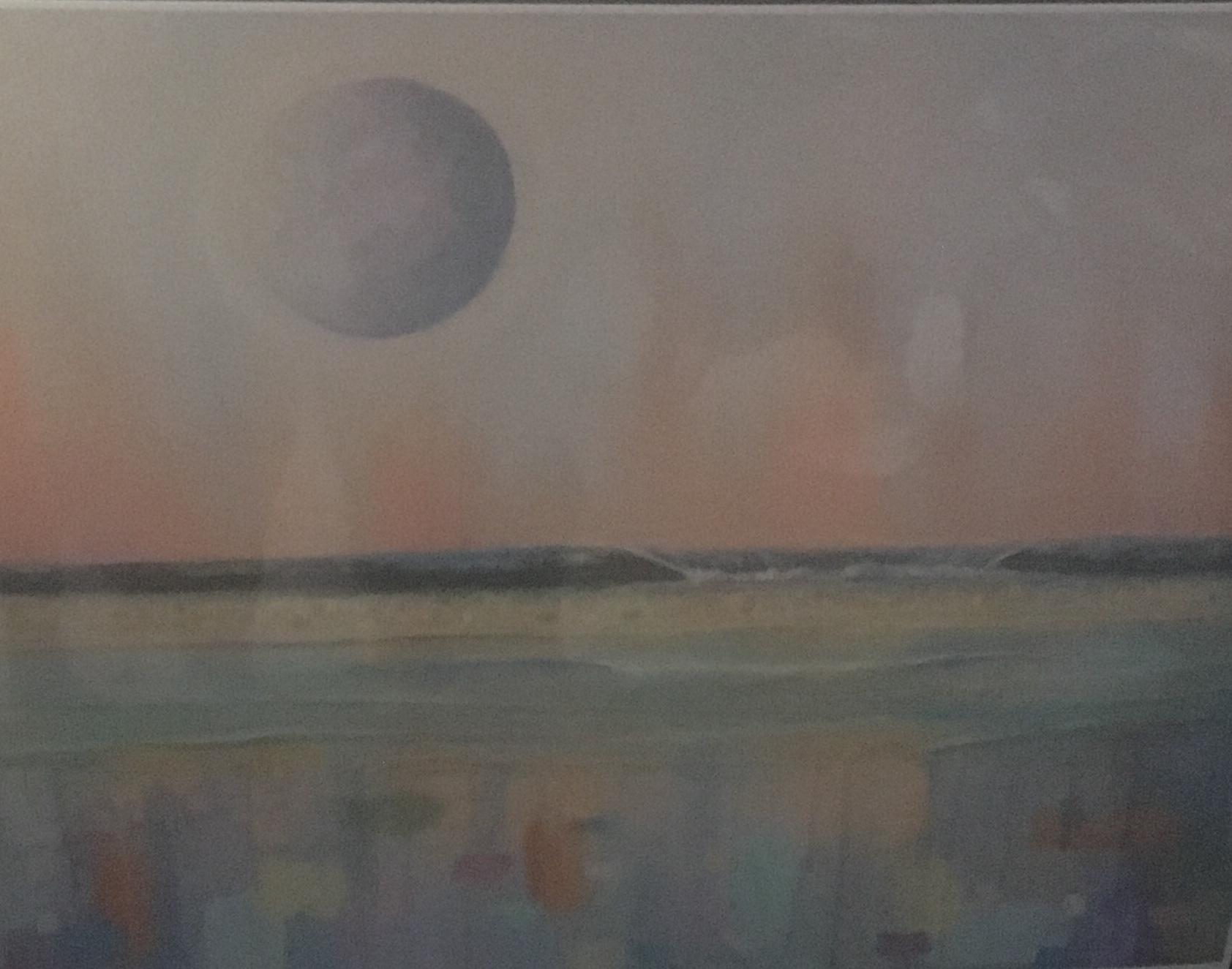 Moon Abstract II, 11 x 14, Print, $45