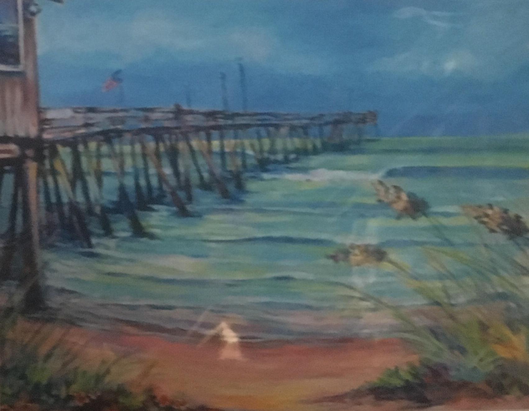 Pier, 11 x 14, Print, $45