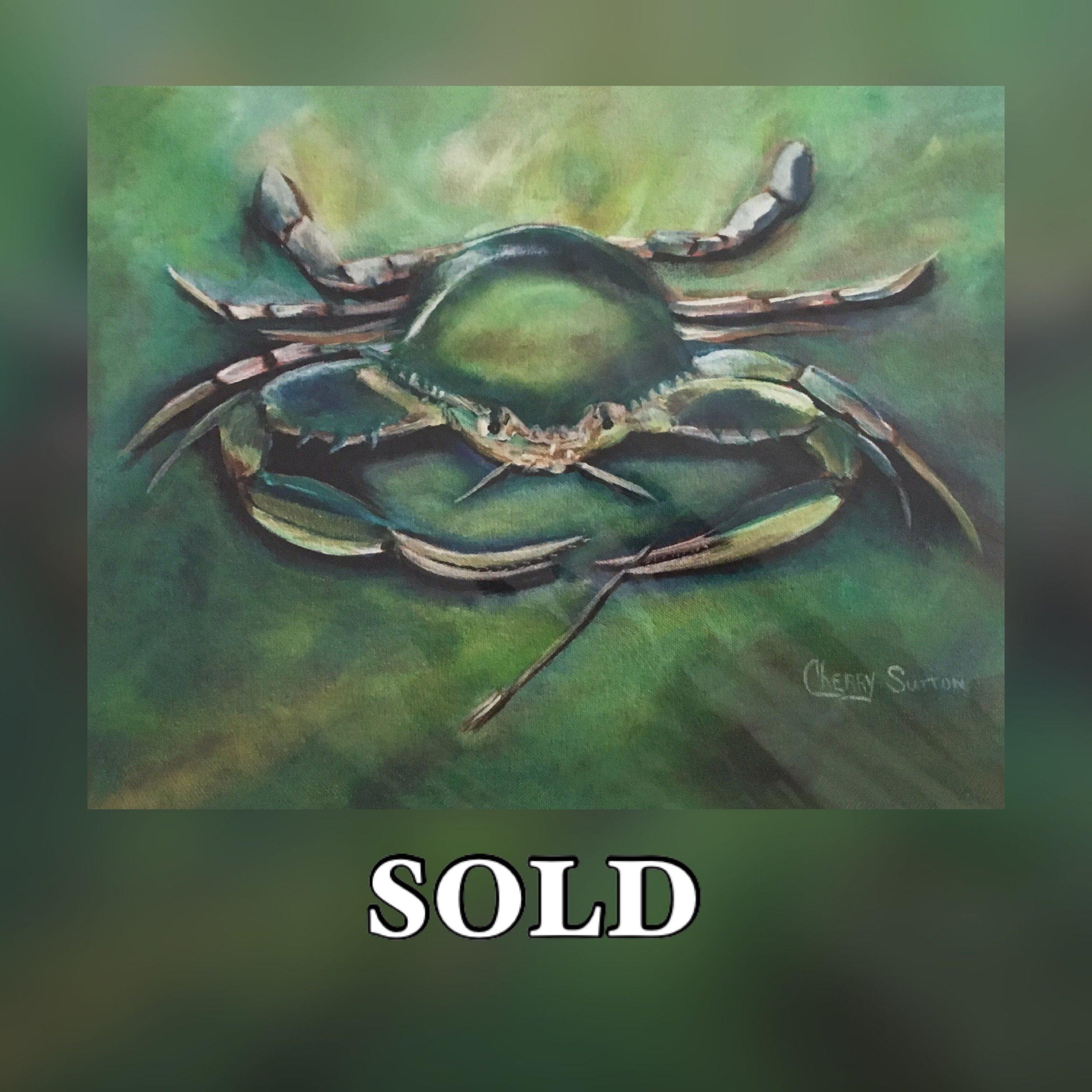 Blue Crab Print Sold.JPG