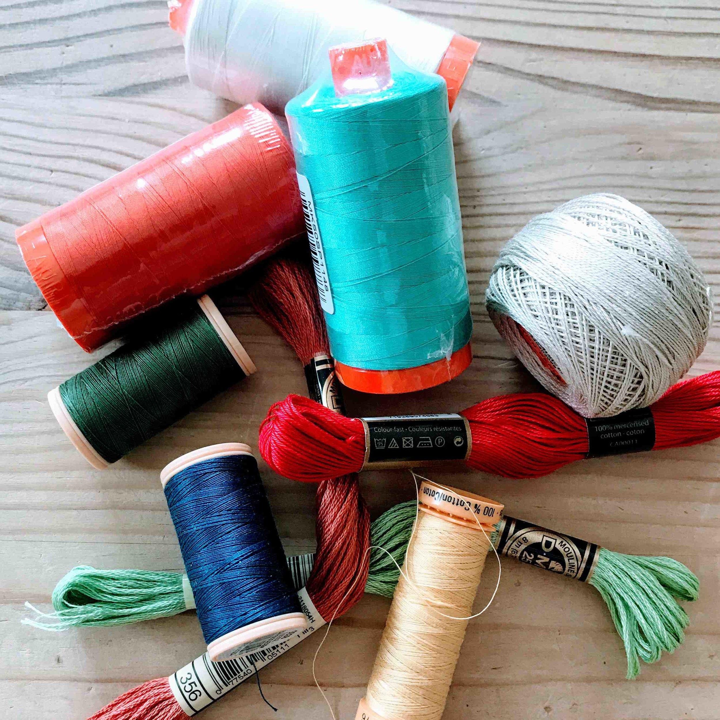 Aurifil Thread Coates