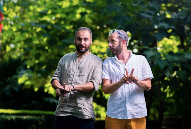 VIPRISER founders, Shadi Saleh and Stefan Velev
