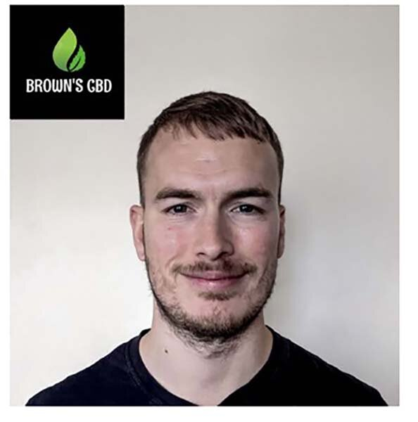 Laurence Brown, Founder of Browns CBD