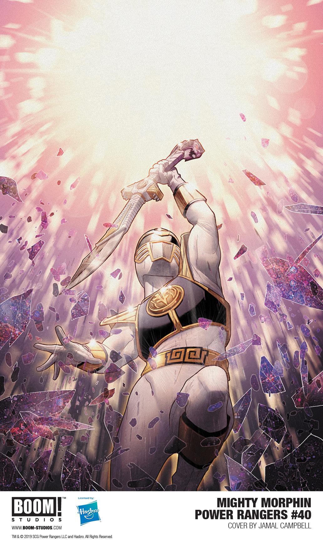 Mighty Morphin Power Rangers #40