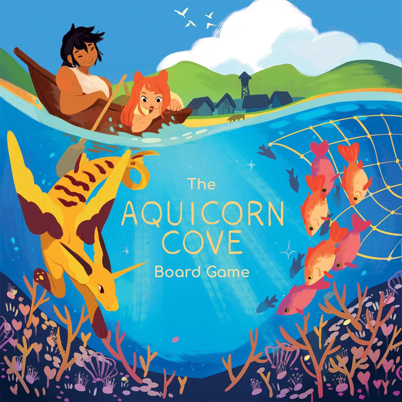 The Aquicorn Cove Game