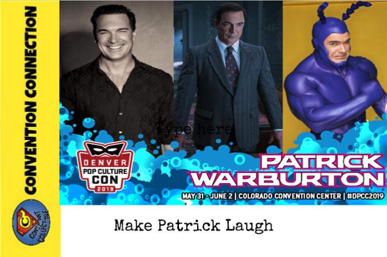 Make Patrick Laugh