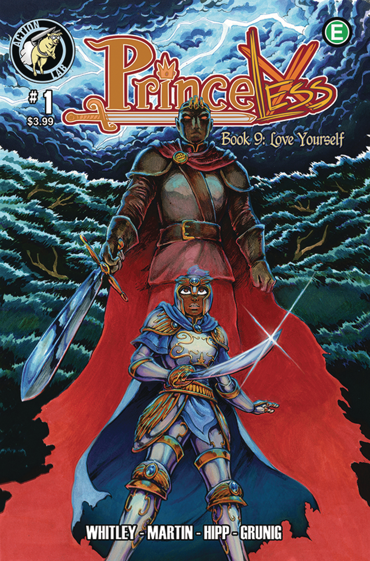 Princeless Volume 9 #1 Cover.jpg