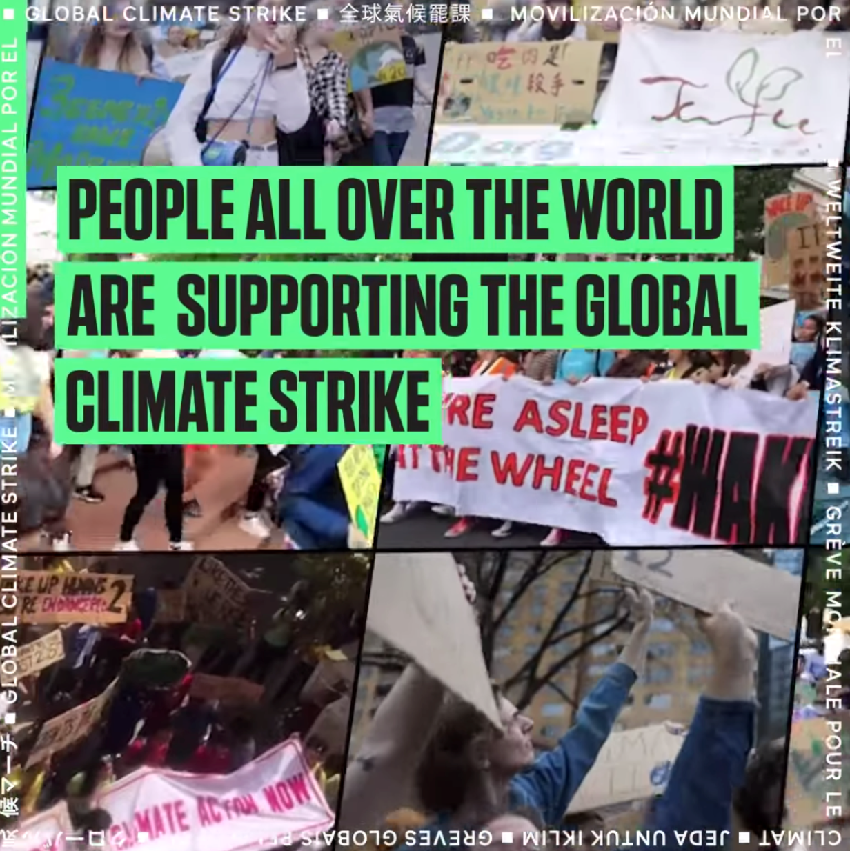 Photo: Global Climate Strike