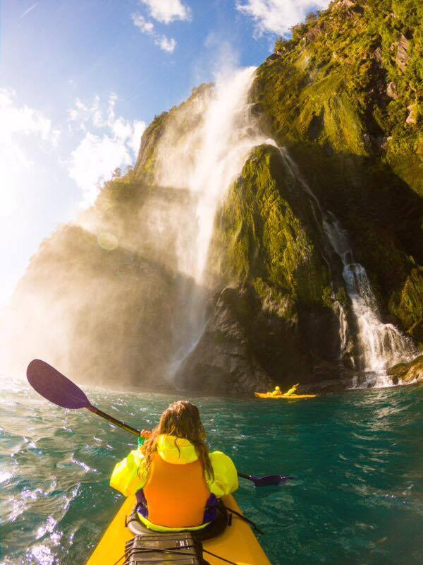 1. BOOK A TRIP TO GO SEA KAYAKING IN BEAUTIFUL MILFORD SOUND - Come on a sea kayaking adventure with one of Rosco's fun, expert, local guides and choose from a variety of trips - there's something to suit everyone. Experience the 'eighth wonder of the world' by water. Follow the website link to book your trip today.