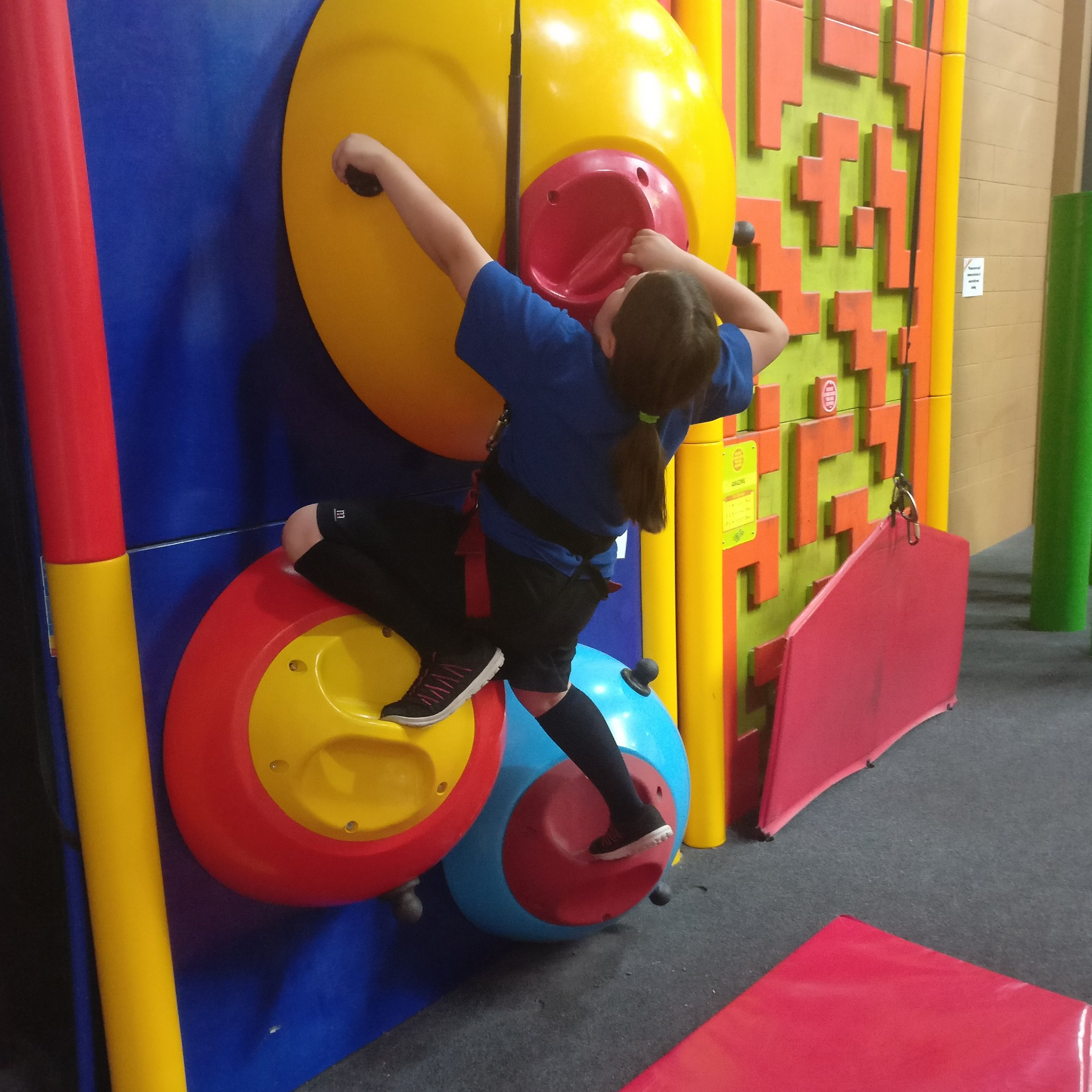 No climbing experience needed just clip and climb at the YMCA Adventure Centre - 📷 @dre322