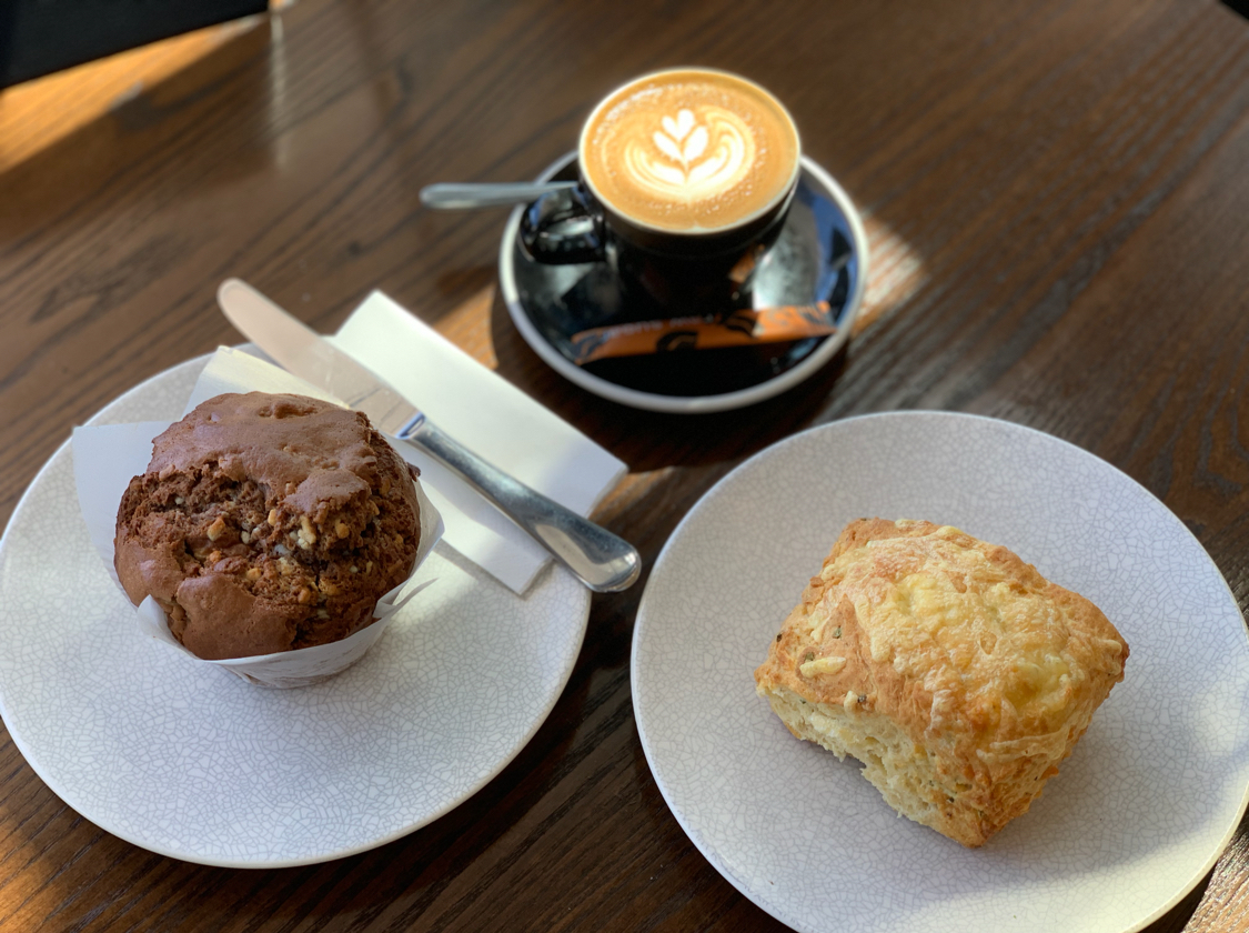 Enjoy a scone at the Art Centre at Universo - 📷madlen@universo.co.nz