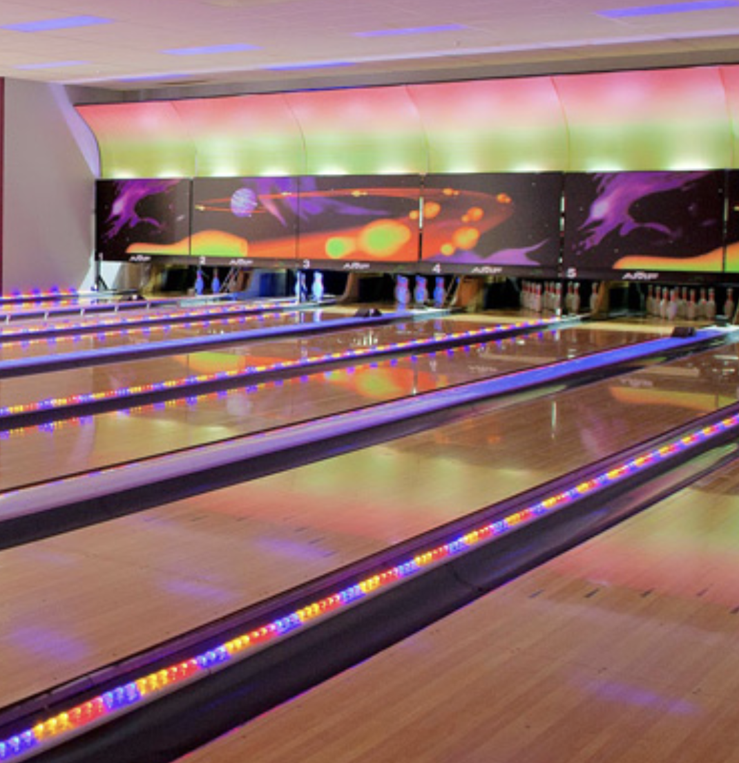 Ten Pin Bowling at Strike - Queenstown's favorite bowling alley! Strike Bowl brings more than just bowling but also Timezone arcade games, air hockey and table soccer for your fun time.
