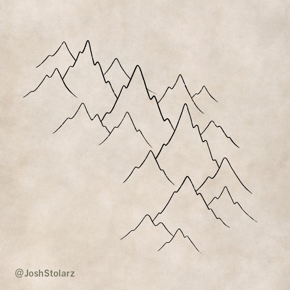 How to Draw Mountains On a Map — MapEffects   Josh Stolarz