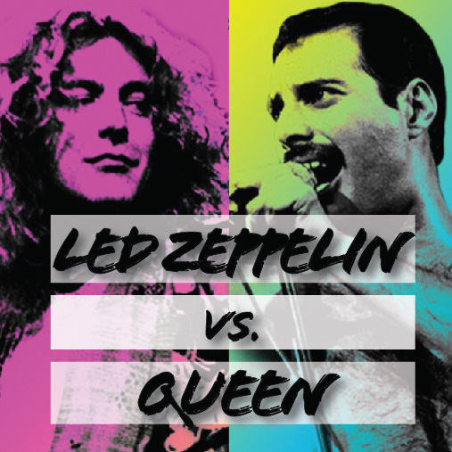 TOMORROW: Led Zeppelin Vs. Queen - Go down memory lane with Jen or explore the founders of stadium rock. Whether you're Team Mercury or Team Paige, you'll be rocking out all day the music of yesterday's best parties. Book your bike for 9:10AM here.