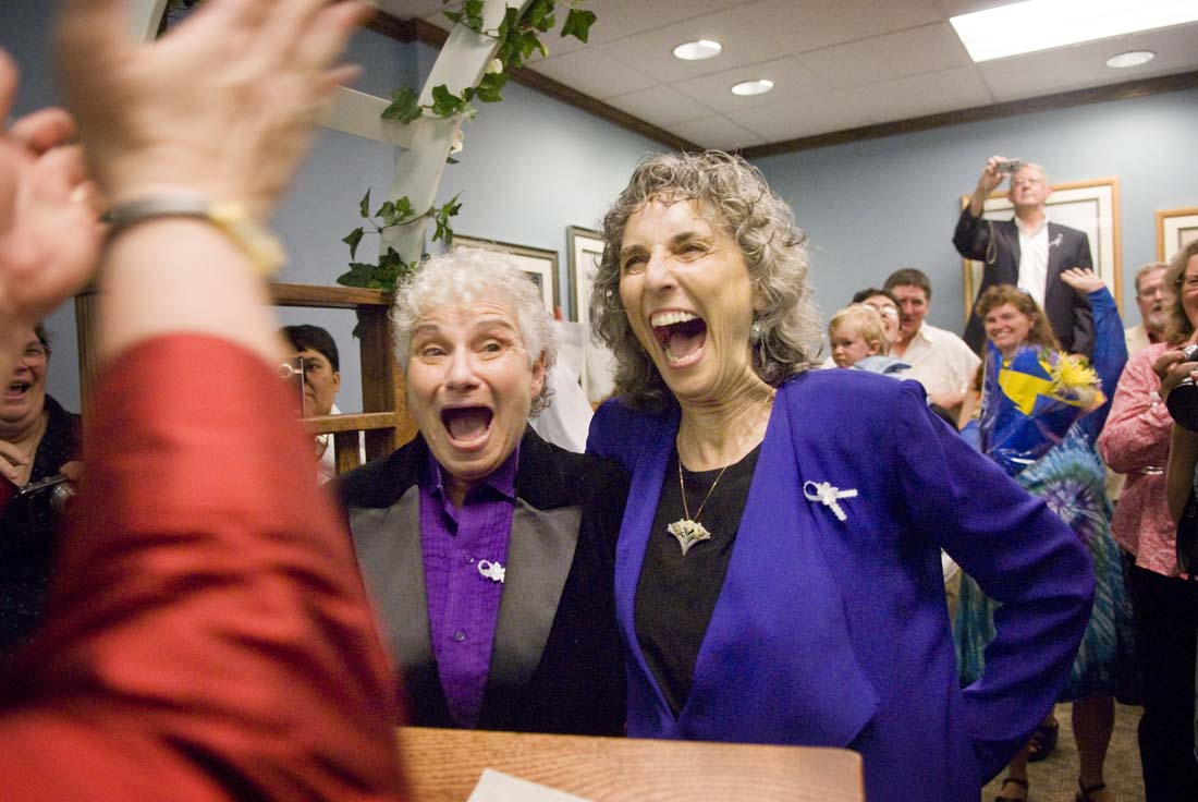 After Decades of Love, Marriage is Made Legal