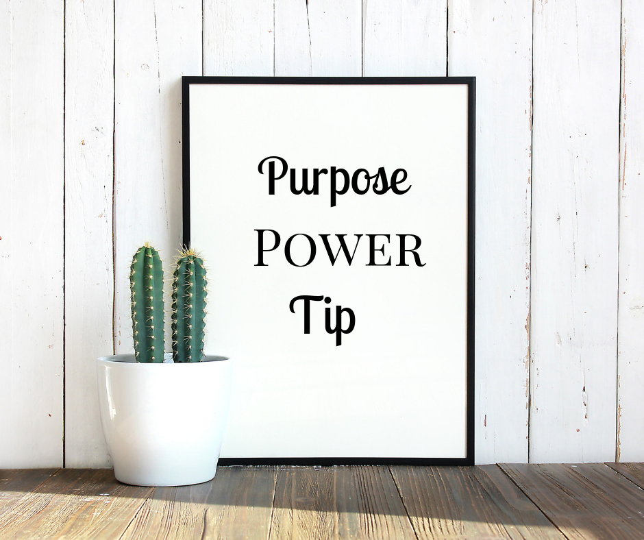 Tips Please - Fight to WIN! Fighting without strategy means defeat. Tackle circumstances while walking in your purpose with a weekly Purpose POWER Tip. DO THAT THING!