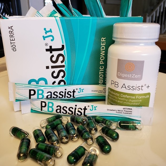 PB Assist®  - Provides healthy intestinal flora and helps strengthen immunity. * Comes in veggie caps or powder sachets.  more info →