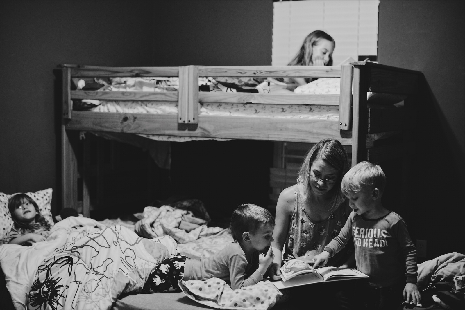Bedtime Family Photography Session