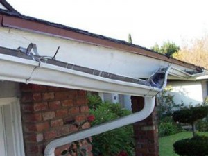 BROKEN GUTTER REPAIR RUTHERFORD NJ