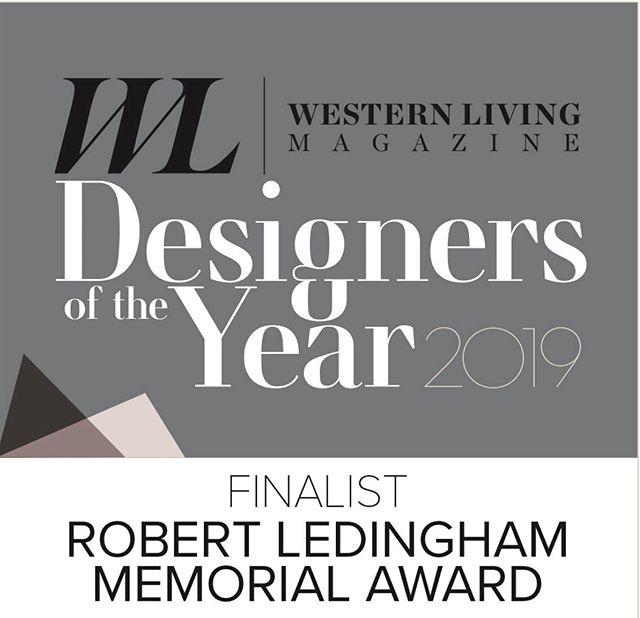 We are so honoured to be a finalist for Western Livings Designers of the Year awards. Thank you @westernliving 🖤.