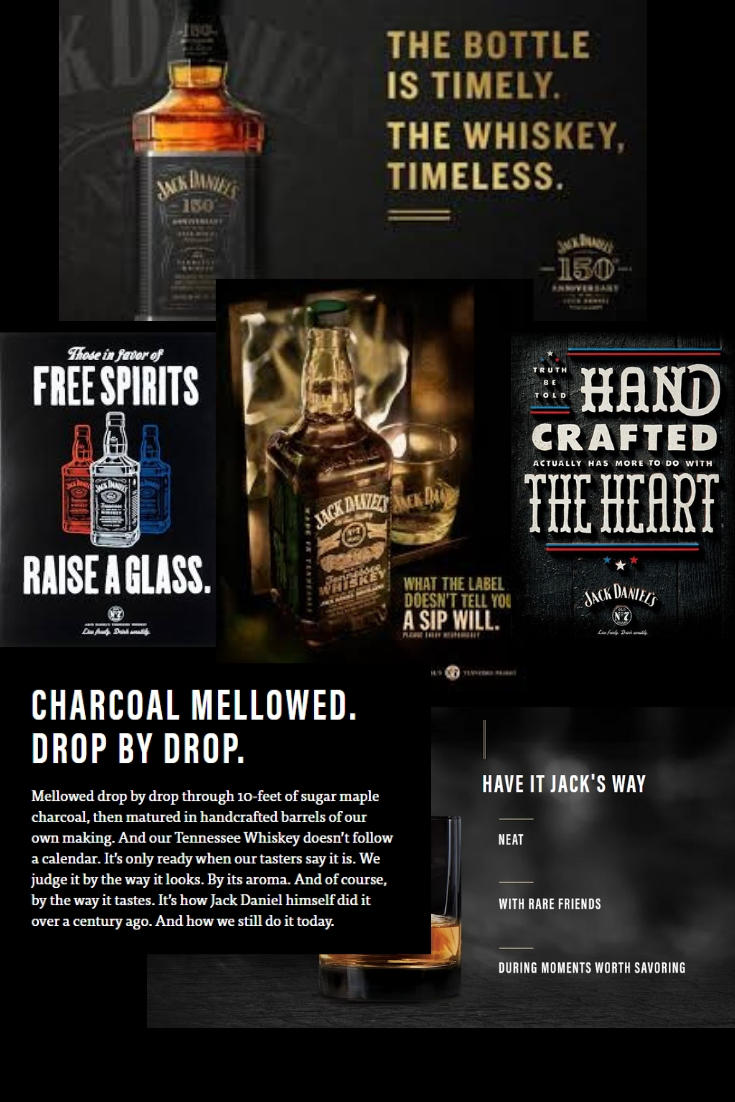 Big Boy #1: - Company: Jack DanielsBrand Voice: Proud and lyricalWhat you can learn from them:Fun, quirky and shocking are not the only ways to catch attention and convert customers. A poem-like rhythm in web and ad copy can be very powerful.