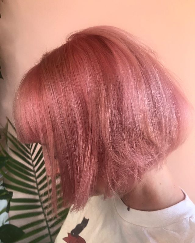 Strawberry lemonade #summerhair #boblife