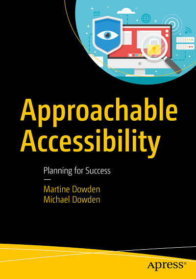 Not quite ready? - Start by learning more about web accessibility in our founders' new book, Approachable Accessibility.