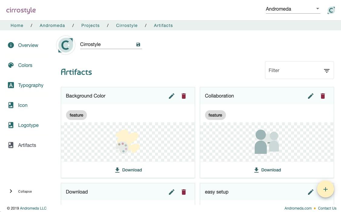 Cirrostyle screenshot