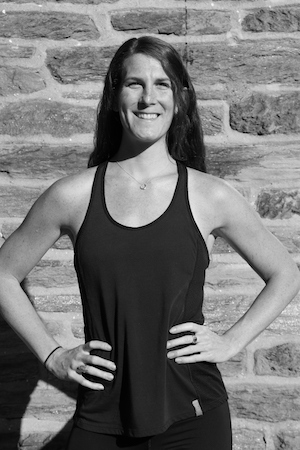Alexandra Stoddart - Alexandra Stoddart grew up in the suburbs of Philadelphia and quickly found comfort in organized sports and physical activity.Formerly a Division 1 swimmer at La Salle University, Alex is no stranger to what it takes to create formula for fitness and health success. With 9+ years of coaching experience, Alex specializes in performance-based training and brings a holistic perspective to athletic development.Her progressive training style incorporate all fitness disciples, including strength training, sport specific skills training, flexibility, and endurance. Whether you're a seasoned athlete or simply looking to strengthen and tone, Alex provides comprehensive training programs, tailored to help each client reach their specific goals.When possible, Alex loves to bring the gym outdoors by creating dynamic workouts that help develop and refine specific motor skills that are critical to athletic development. Alex believes that everyone is an athlete in their own way, and challenges clients to move better by incorporating an athletic twist to everyday movement.Alex is certified by AAAI and ISMA as a personal trainer. She teaches B FIT classes, offers personal training and coaches LAX athletes through B-Inspired programs.