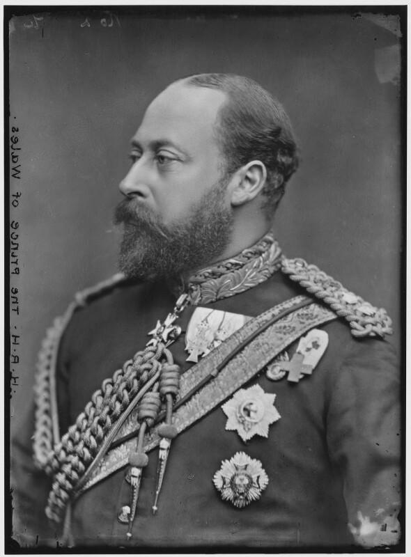 King Edward VII by Alexander Bassano 1882