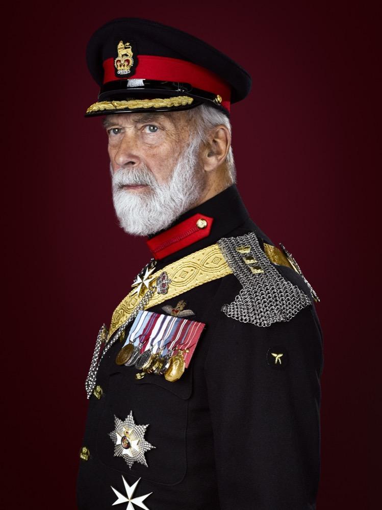H.R.H Prince Michael of Kent, GCVO, KStJ, CD London Royal Portrait Photographer Rory Lewis
